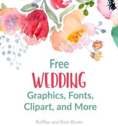 free wedding clipart svgs fonts [ 1200 x 800 Pixel ]