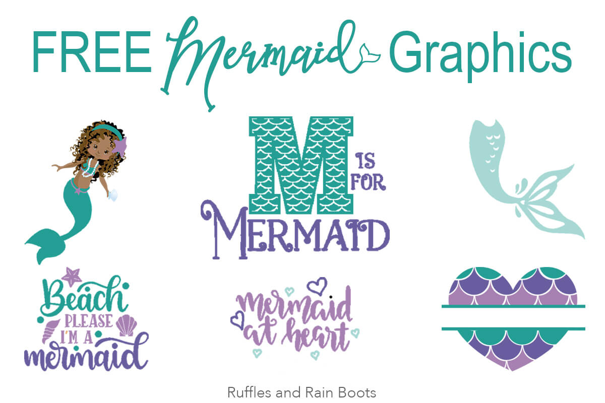 free mermaid svg files
