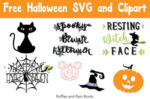small resolution of free halloween svg and cut files for digital crafting