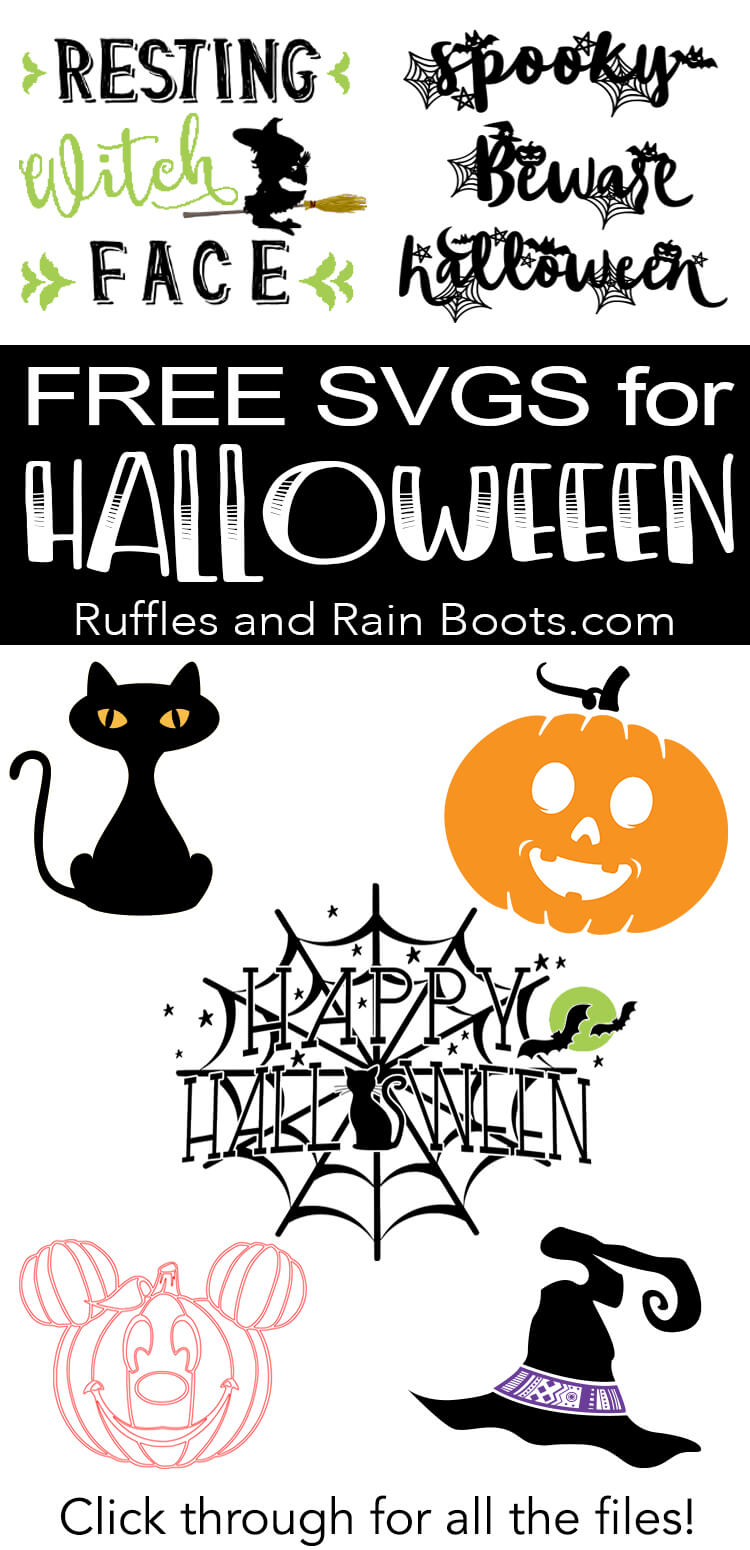Download Free Halloween SVG and Cut Files for Digital Crafts