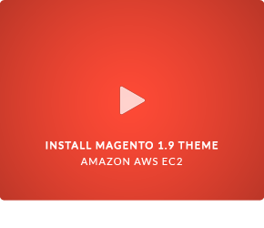 Video install Magento 1.9 Theme EM Comeback