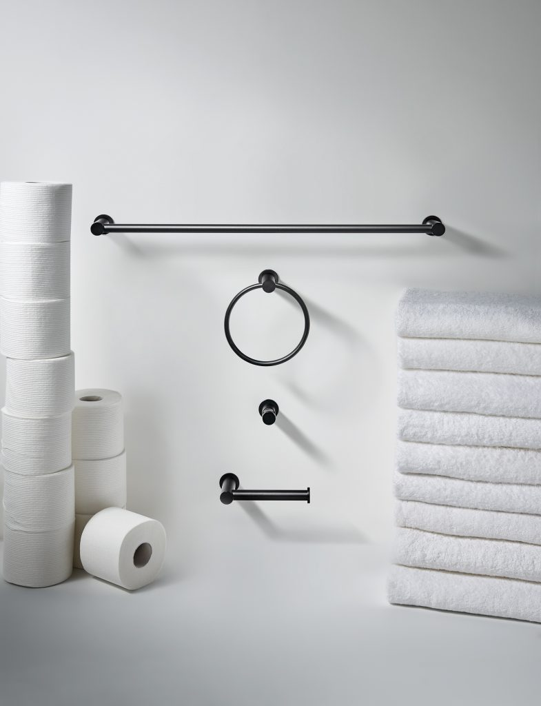 Matte Black Bath Accessories  For Residential Pros