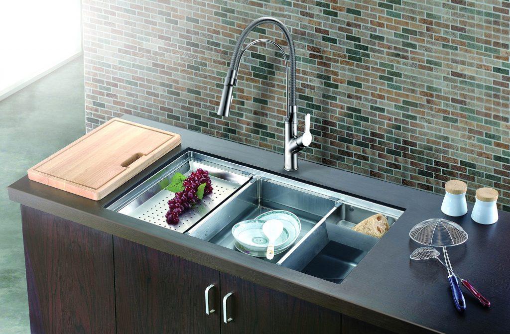 kitchen bath design black apron front sink classic style modern flair news