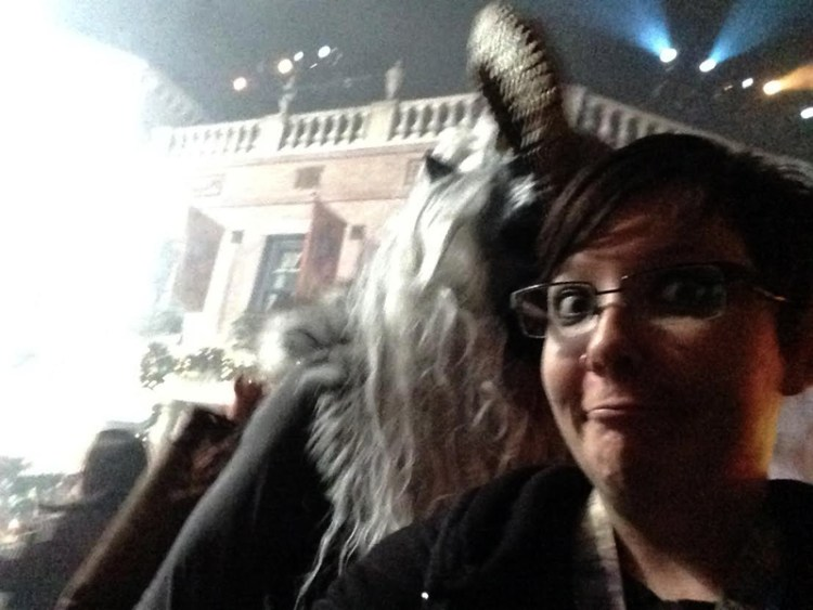 This was my favorite Krampus by far, but that was before he started licking me.