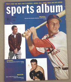 Sports Album Magazine June-Aug 1949