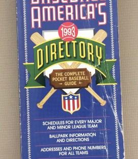 Baseball America's Baseball Directory 1993