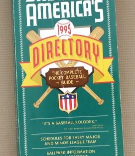 Baseball America's Baseball Directory 1995