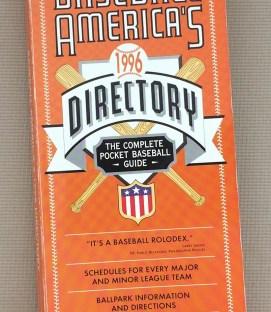 Baseball America's Baseball Directory 1996