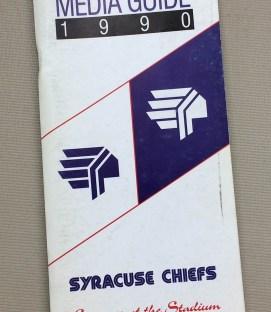 Syracuse Chiefs 1990 Media Guide