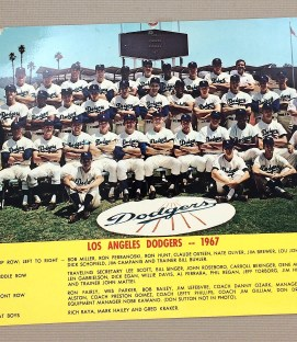 Los Angeles Dodgers 1967 Team Photo