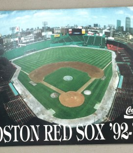 Boston Red Sox 1992-93 Team Calendar