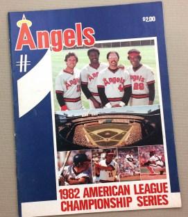 California Angels 1982 ALCS Program