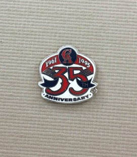 Angels 35th Anniversary Pin