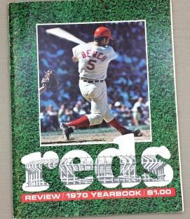 Cincinnati Reds 1970 Yearbook