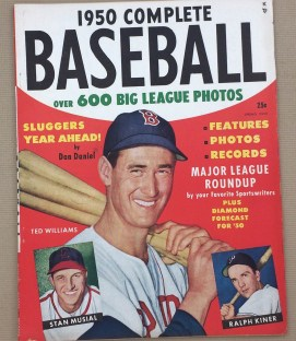 Complete Baseball Spring 1950 Issue