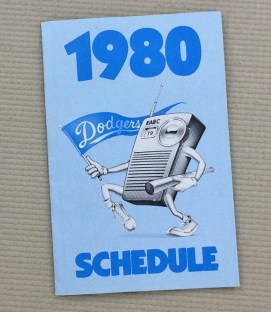 1980 Los Angeles Dodgers Schedule