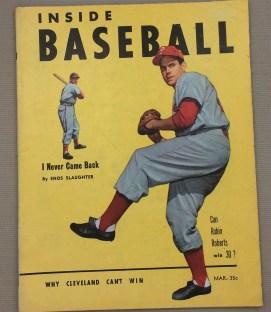 Inside baseball March 1953 Issue