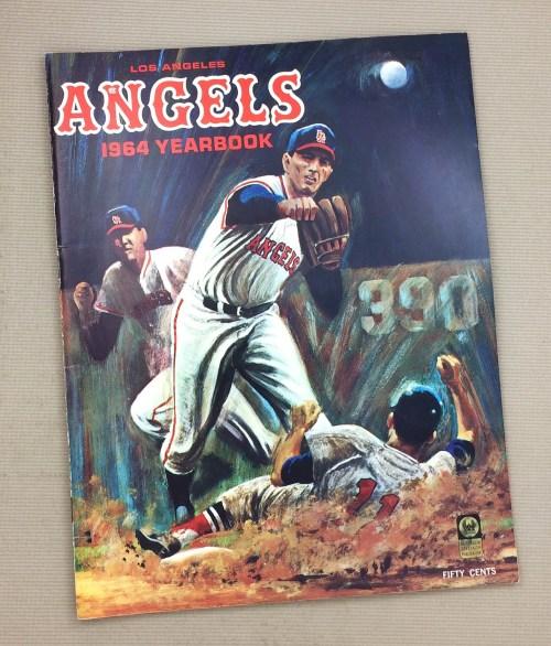 Los Angeles Angels 1964 Yearbook