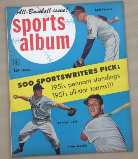 Dell Sports Album Magazine Spring 1951