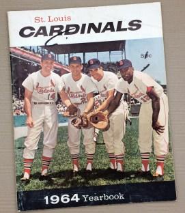 St Louis Cardinals 1964 Yearbook