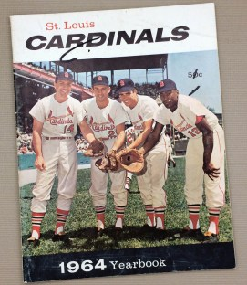 St Louis Cardinals 1964 Yearbook