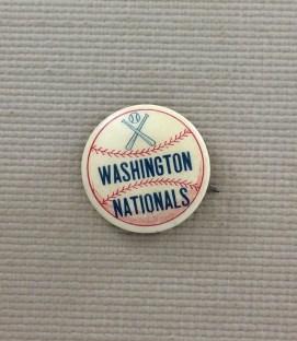 1950's Washington Nationals Button