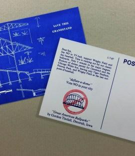 Wrigley Field Day Baseball Postcard