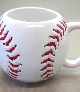 Stitched Baseball Mug