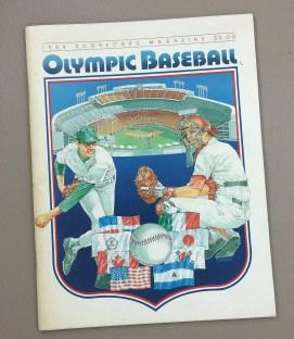 1984 Olympic Baseball Program