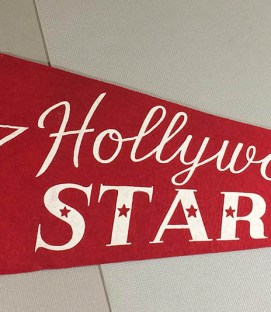 Hollywood Stars PCL Felt Pennant