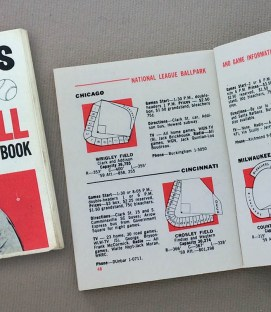 Gil Hodges 1960 Baseball Schedule
