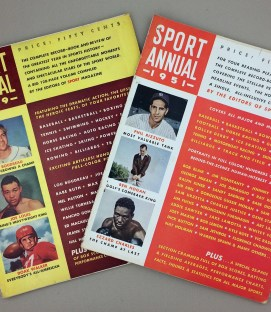 1949 & 1951SPORT ANNUAL Magazine 2 Pack