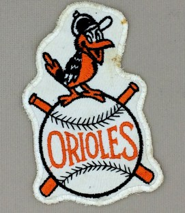 1960s Era Baltimore Orioles Patch