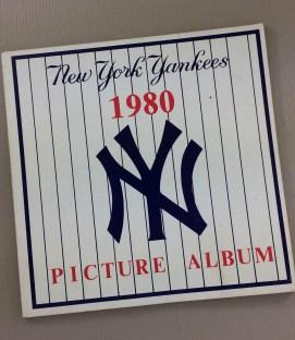New York Yankees 1980 Picture Album
