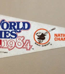 San Diego Padres 1984 World Series Pennant