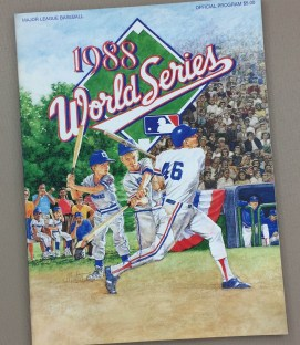 1988 world series program