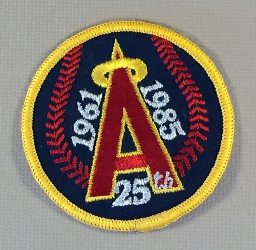 California Angels 25th Anniversary Patch