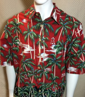 California Angels Reyn Spooner Hawaiian Shirt