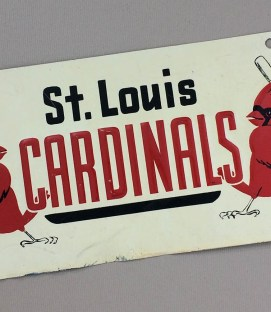 St Louis Cardinals License Plate