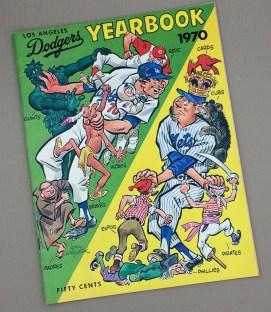 Los Angeles Dodgers 1970 Yearbook