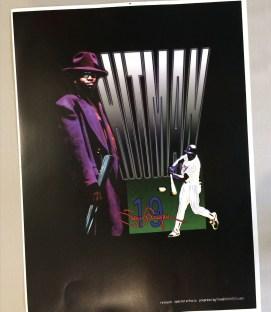 Tony Gwynn Hit Man Poster