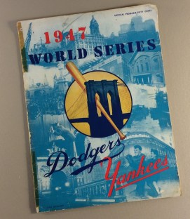 World Series 1947 Program
