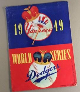 World Series 1949 Program