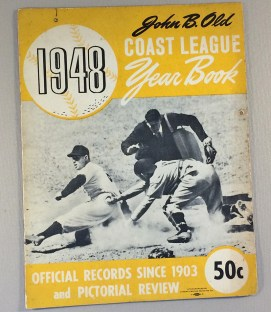 Pacific Coast League 1948 Yearbook