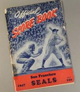 San Francisco Seals 1947 Program