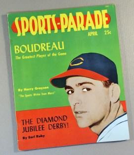 April 1949 Sports Parade Magazine
