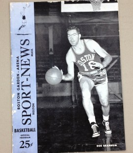 1953 Celtics Pistons Program