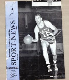 1953 Celtics Pistons Program