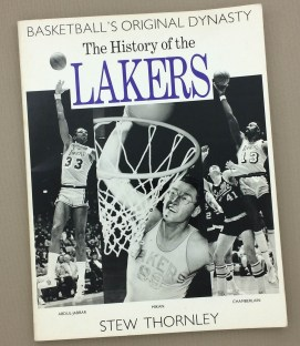 The History of the Lakers by Stew Thornley