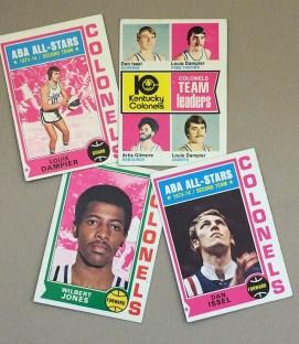 1974-75 Kentucky Colonels Collectors Card Set